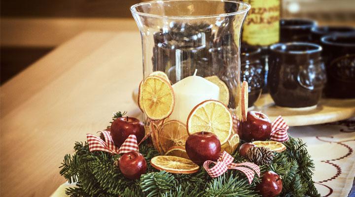 stolik świąteczny